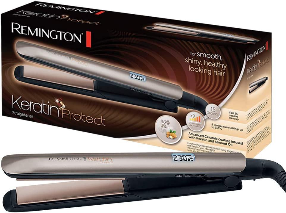 Remington S8540 Keratin Protect hajsimító - remingtonmintabolt.hu c0b7f15f75