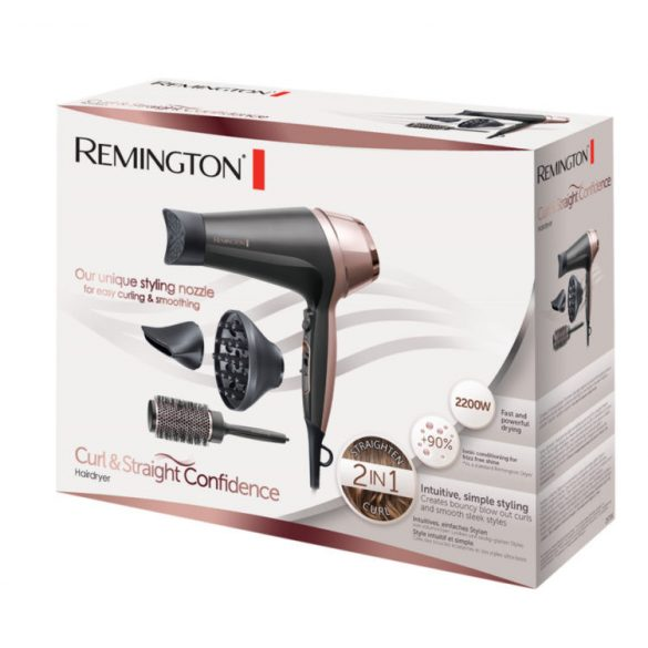 Remington D5706 Curl & Straight Confidence 2200W hajszárító